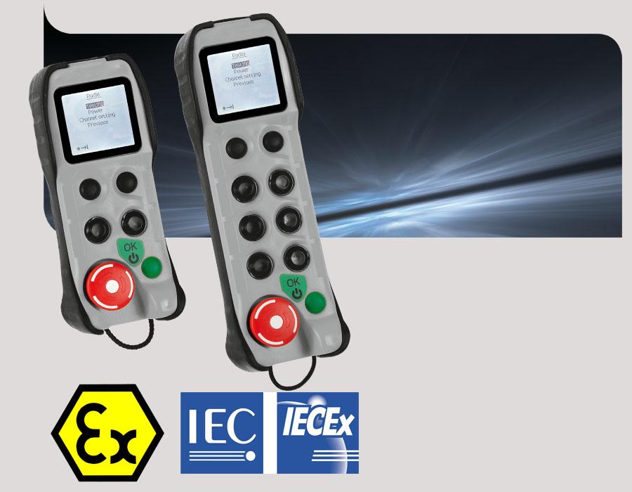 Radiocommande bidirectionnelle Beta ATEX IECEx