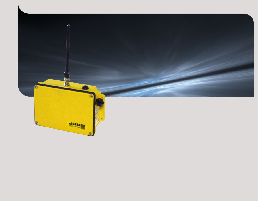 Secure active radio repeater for long range remote control